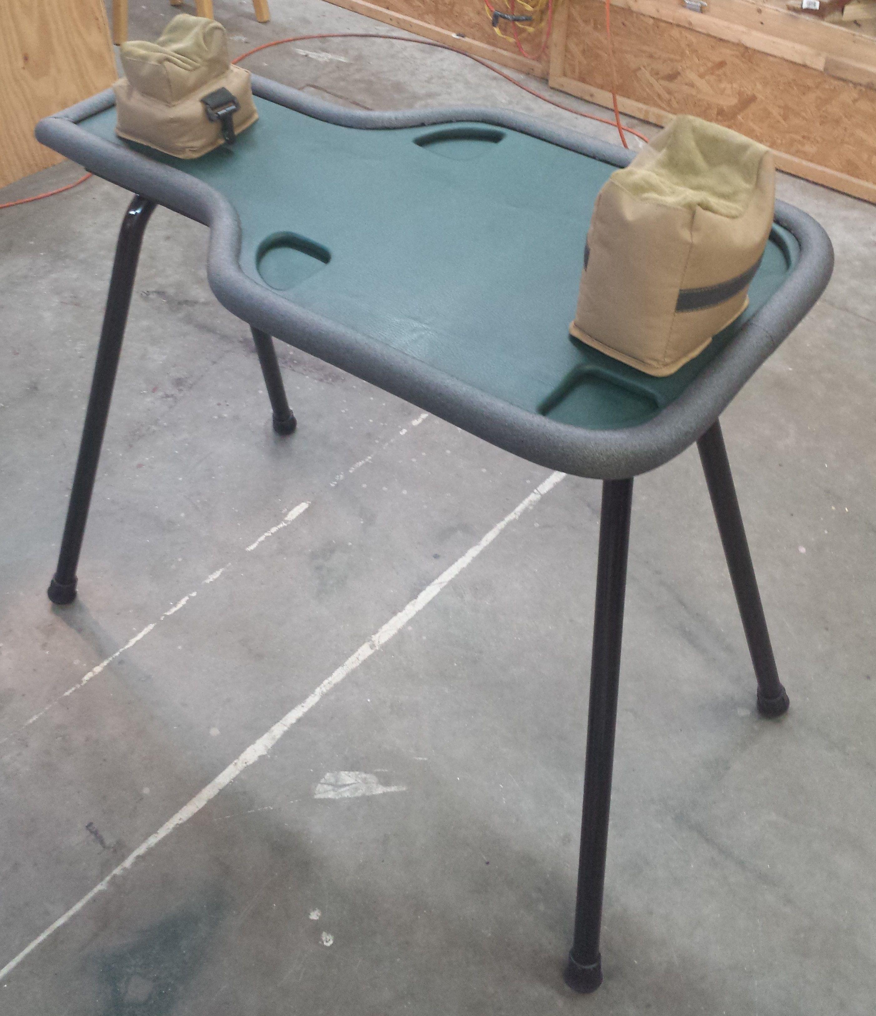 Portable Shooting Bench Shooting Bench Pinterest