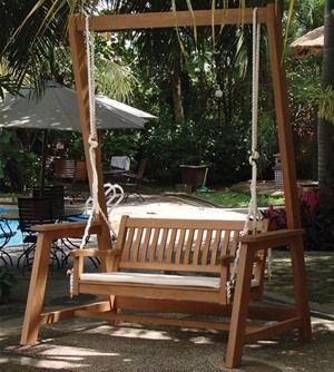 Tuin Hardwood Garden Swing Seat Bench 163 398