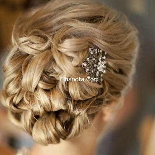 تسريحات Romantic Wedding Hair Wedding Hairstyles Long Hair Styles