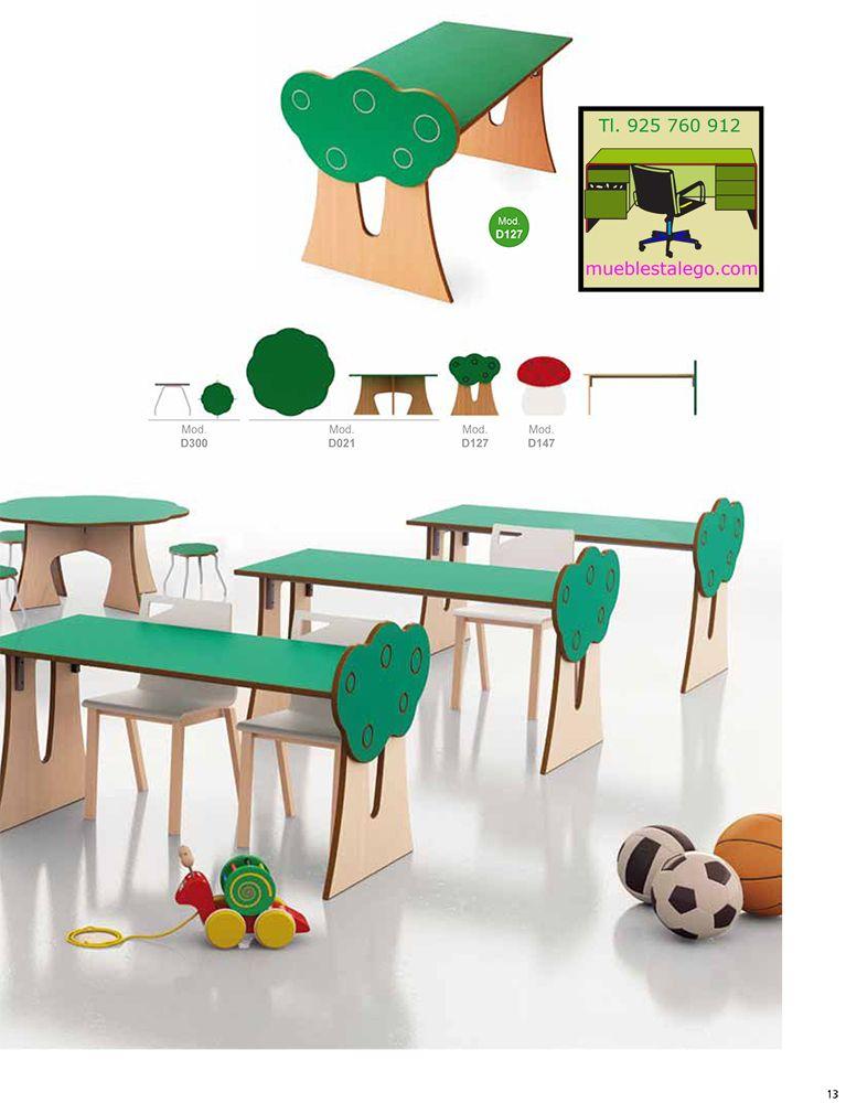 Muebles infantiles guarderia ecologicas | Mobiliario escolar | Pinterest