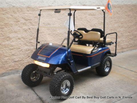 2011 Beautiful Viper Blue Custom Ezgo 48 Volt Golf Cart For Sale In North Florida Golf Carts Golf Golf Carts For Sale