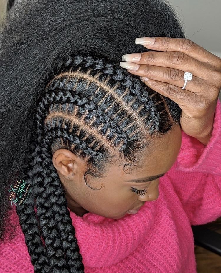 Cornrows Braided Hairstyles Different Types Their History Tutorials In 2020 Braided Hairstyles Braids For Thin Hair Hair Styles