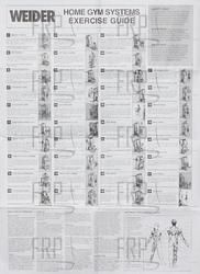 Weider Pro 4300 Exercise Chart Download Pictures To Pin On Pinterest