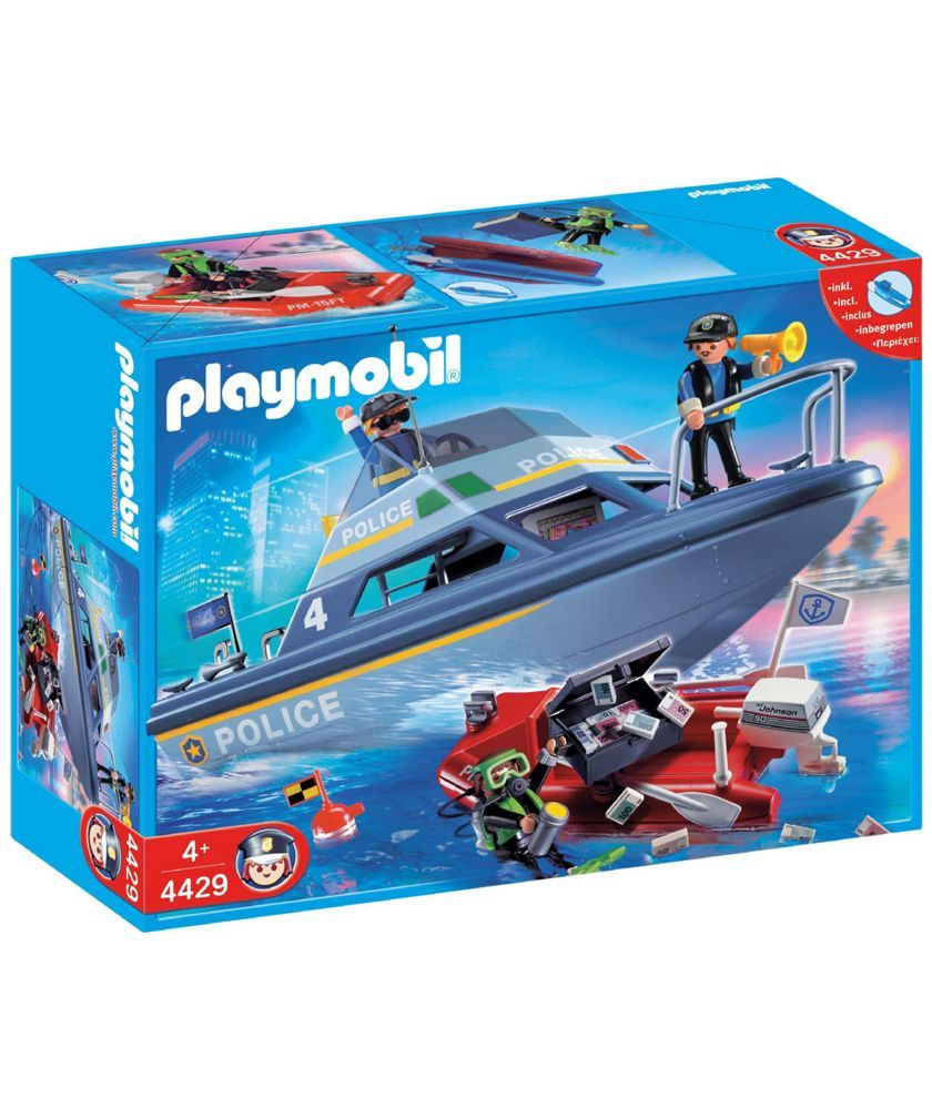Buy Playmobil Police Boat Playset - 4429 at Argos.co.uk - Your ...