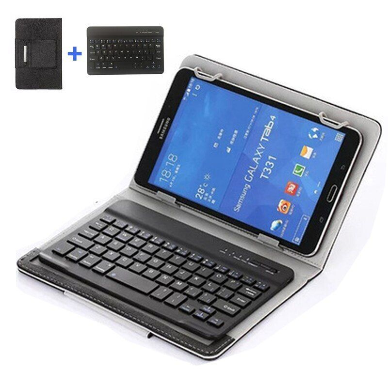 Portable Pu Leather Mini Wireless Bluetooth Keyboard Case For Tablet Laptop Smartphone For Iphone Bluetooth Keyboard Bluetooth Keyboard Case Sony Mobile Phones