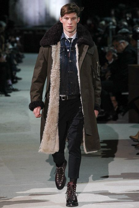 Dsquared² Fall 2015 Menswear - Collection - Gallery - Style.com Coat