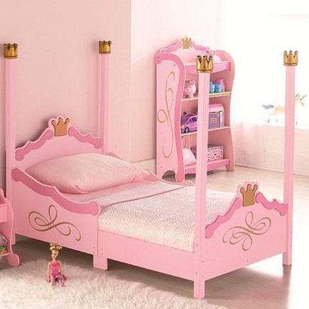 KidKraftR BPrincess B Toddler BBed