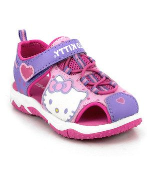 4e04823bd This Pink & Purple Lil Violet Sneaker by Hello Kitty is perfect!  #zulilyfinds