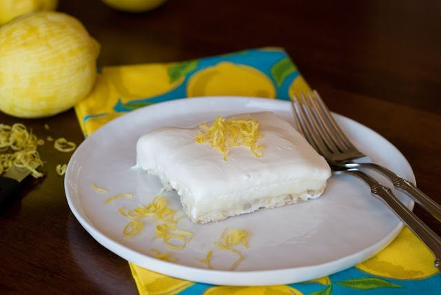 Simply So Good: Lighthouse Lemon Squares