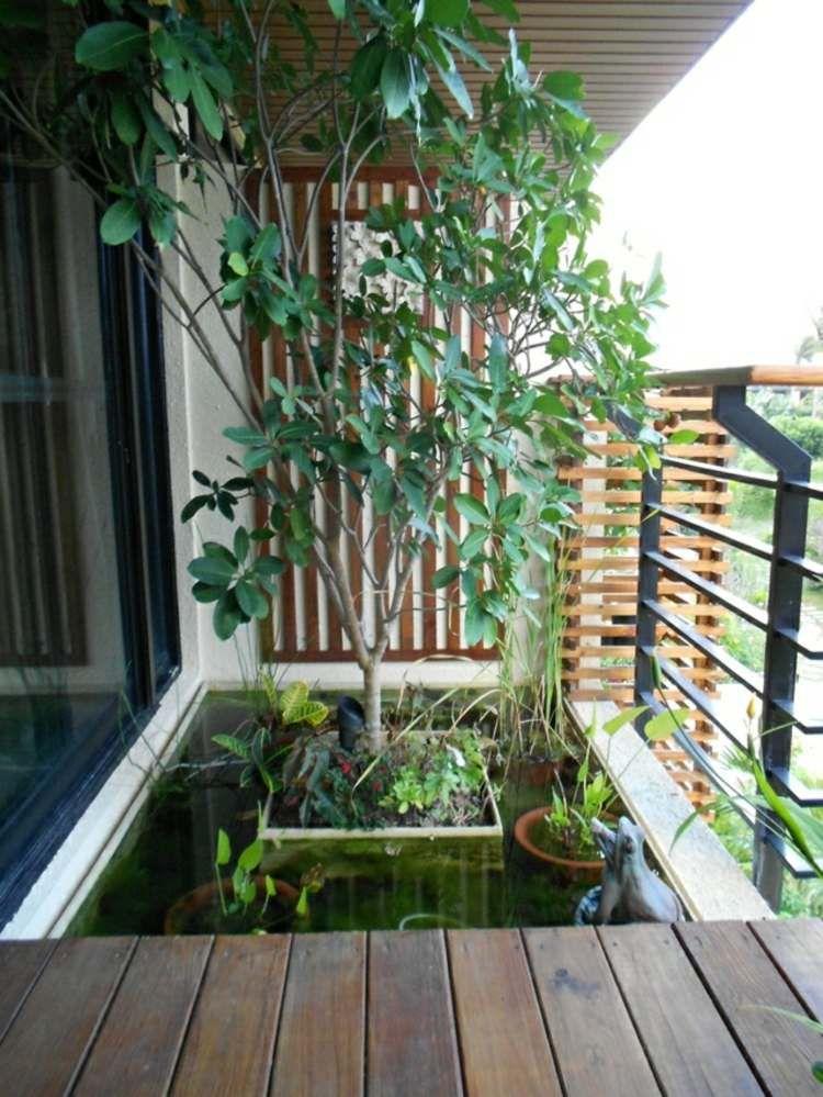 Mini bassin pour rafraîchir le balcon en 26 idées fantastiques ...