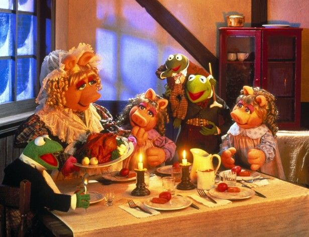 Muppet Christmas.The Muppet Christmas Carol Dinner Muppets Christmas