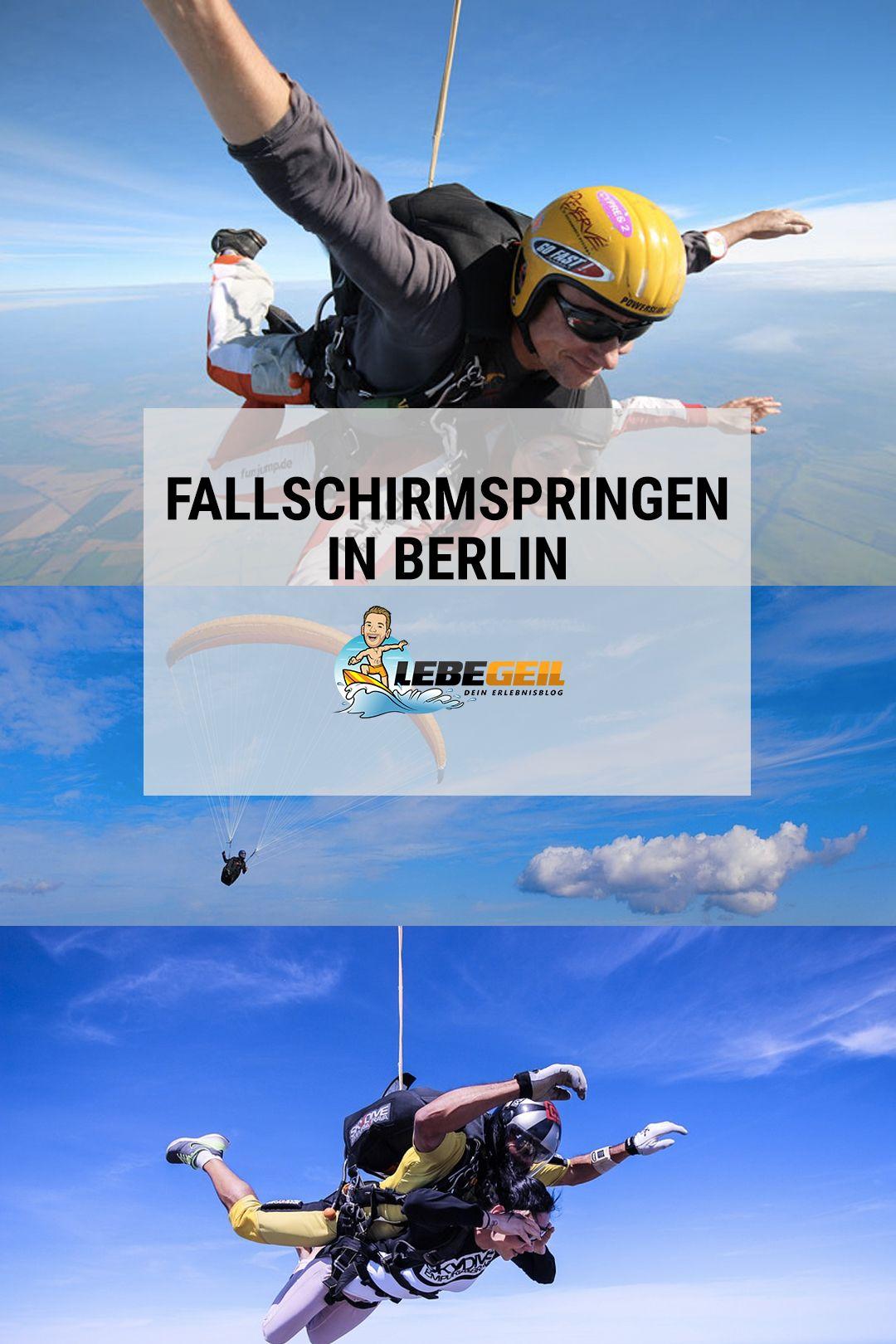 Fallschirmspringen Berlin Die 4 Besten Orte Für Deinen