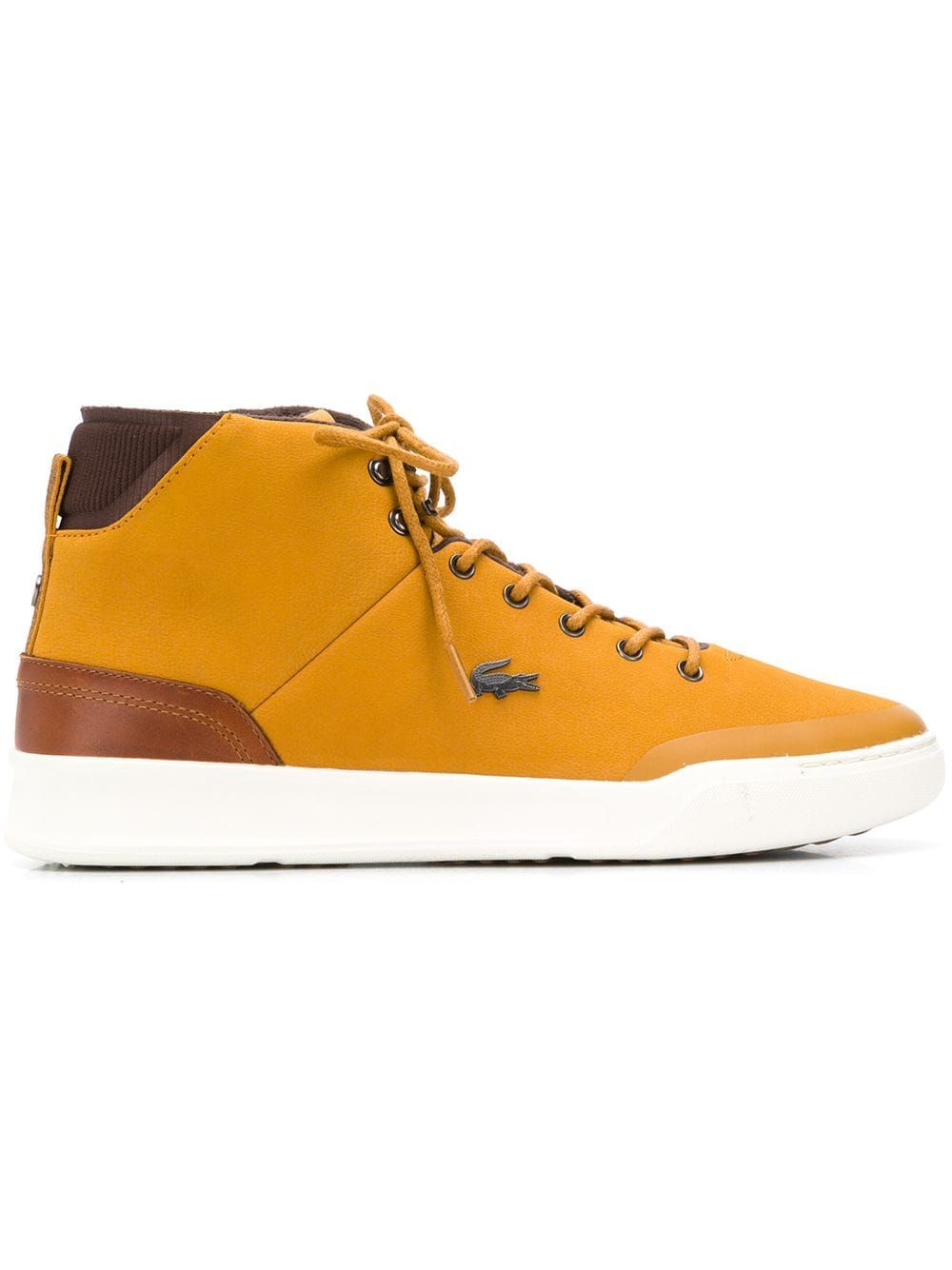 6edfc13b3a6ee LACOSTE LACOSTE SHEARLING BOOTS - YELLOW.  lacoste  shoes Lacoste Shoes Mens