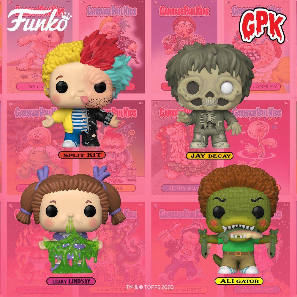 Coming Soon Pop Garbage Pail Kids Garbage Pail Kids Kids Pop Vinyl Figures