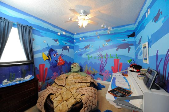I Saw The Finding Nemo Bedroom On Show My House Goes Disney