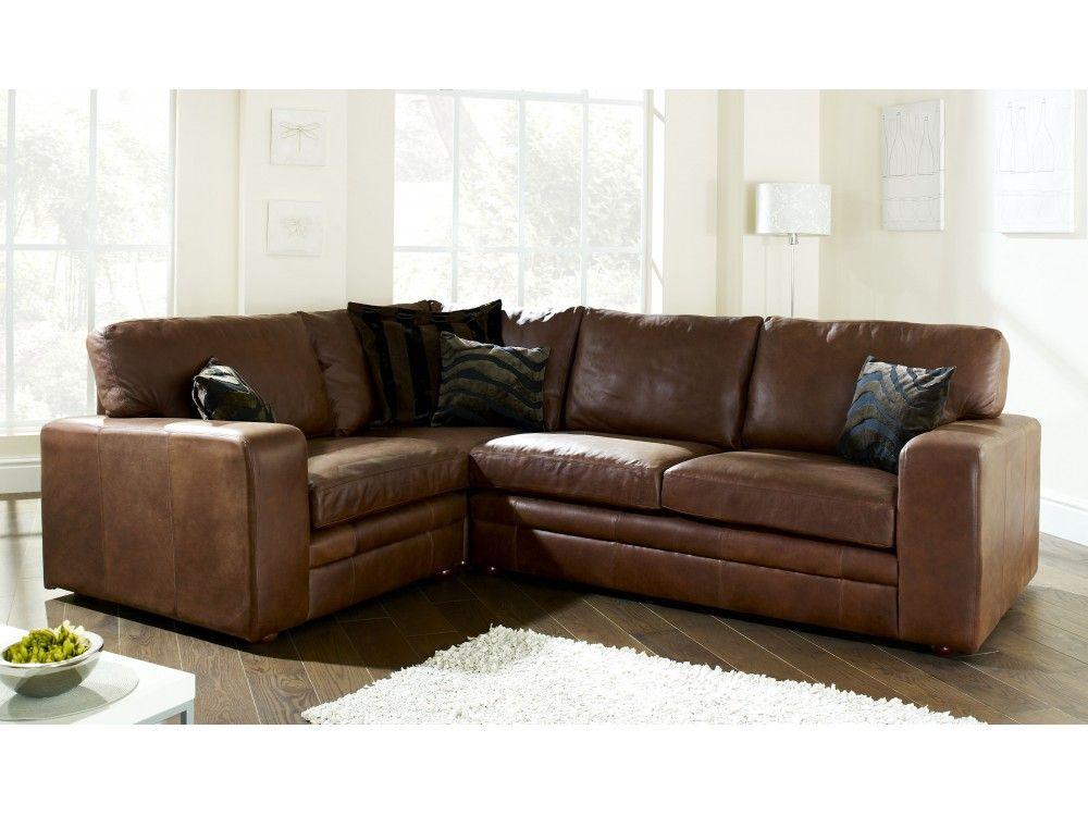 The English Sofa Company Abbey Leather Corner