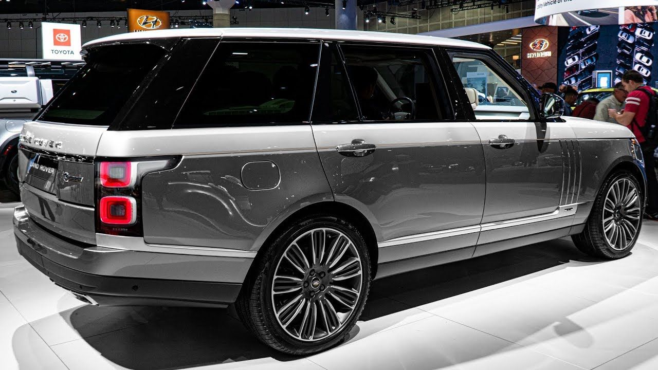 2020 Range Rover SV Autobiography L Interior and