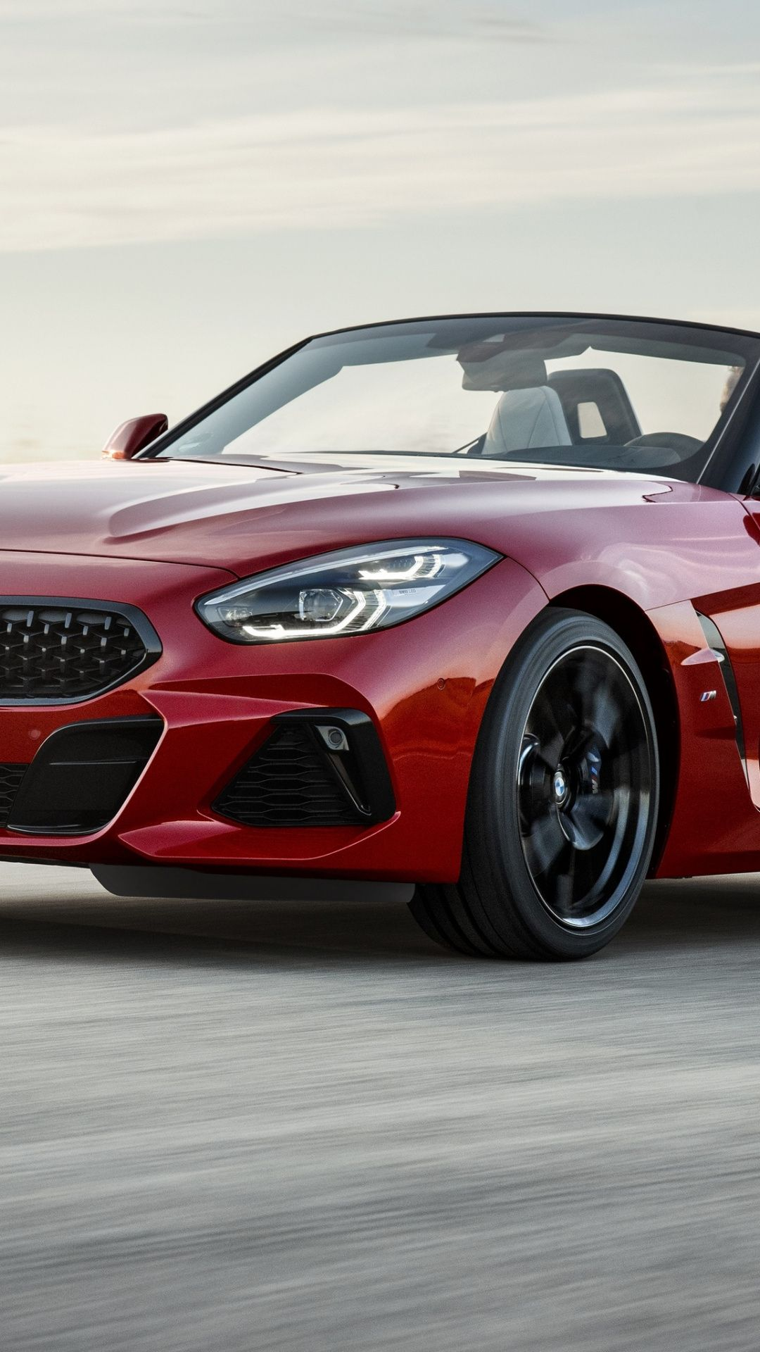 Red Convertible Car Bmw Z4 Wallpaper Bmw Z4 Convertible Samsung Galaxy S4