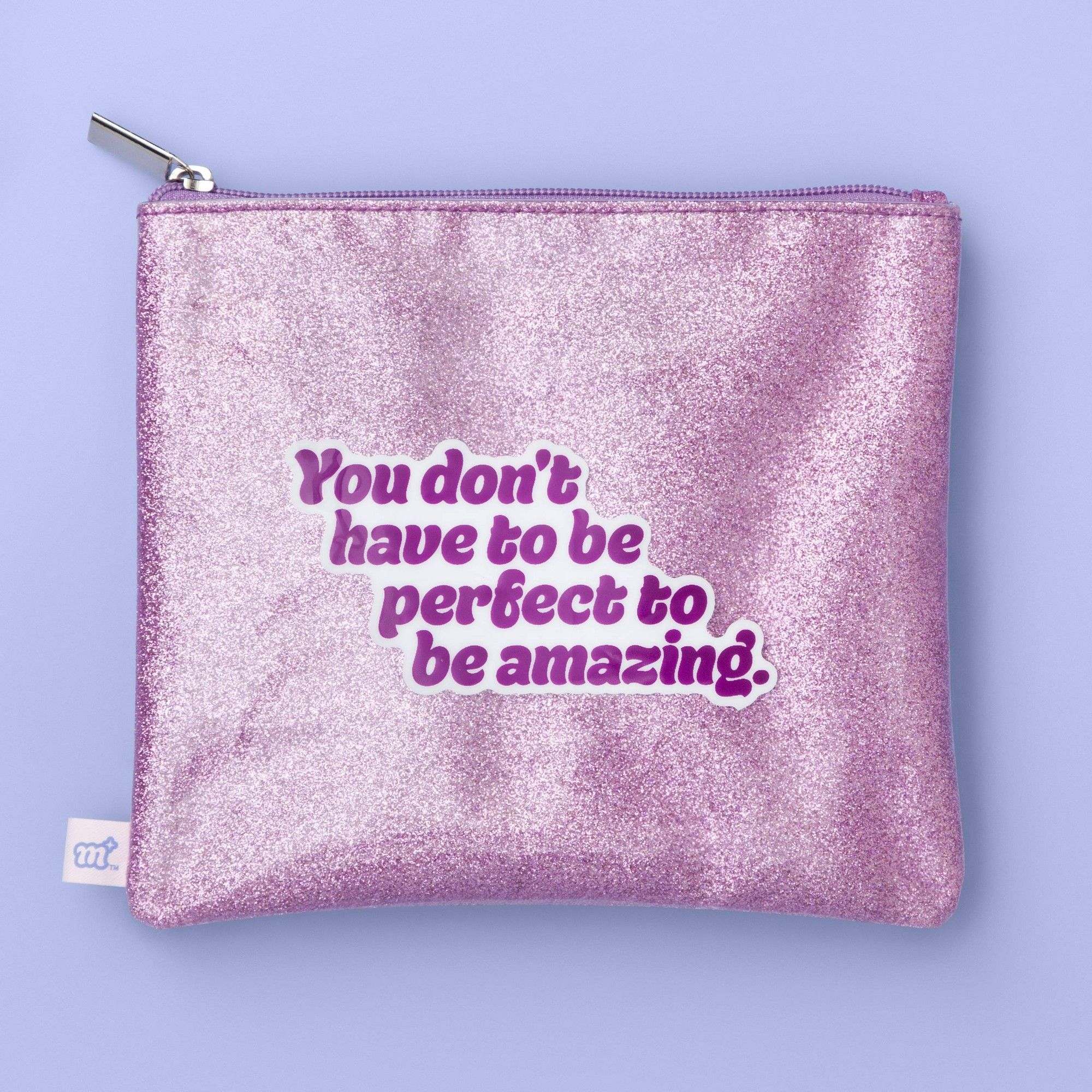 Glitter Makeup Bag More Than Magic™ Pink (With images