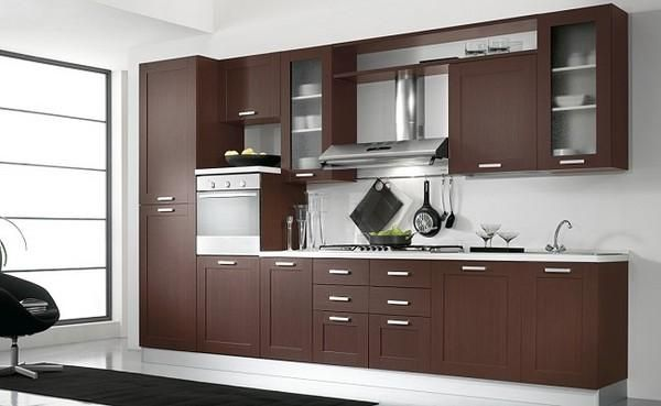 Dise os de muebles de cocinas de melamina modernos for Muebles melamina