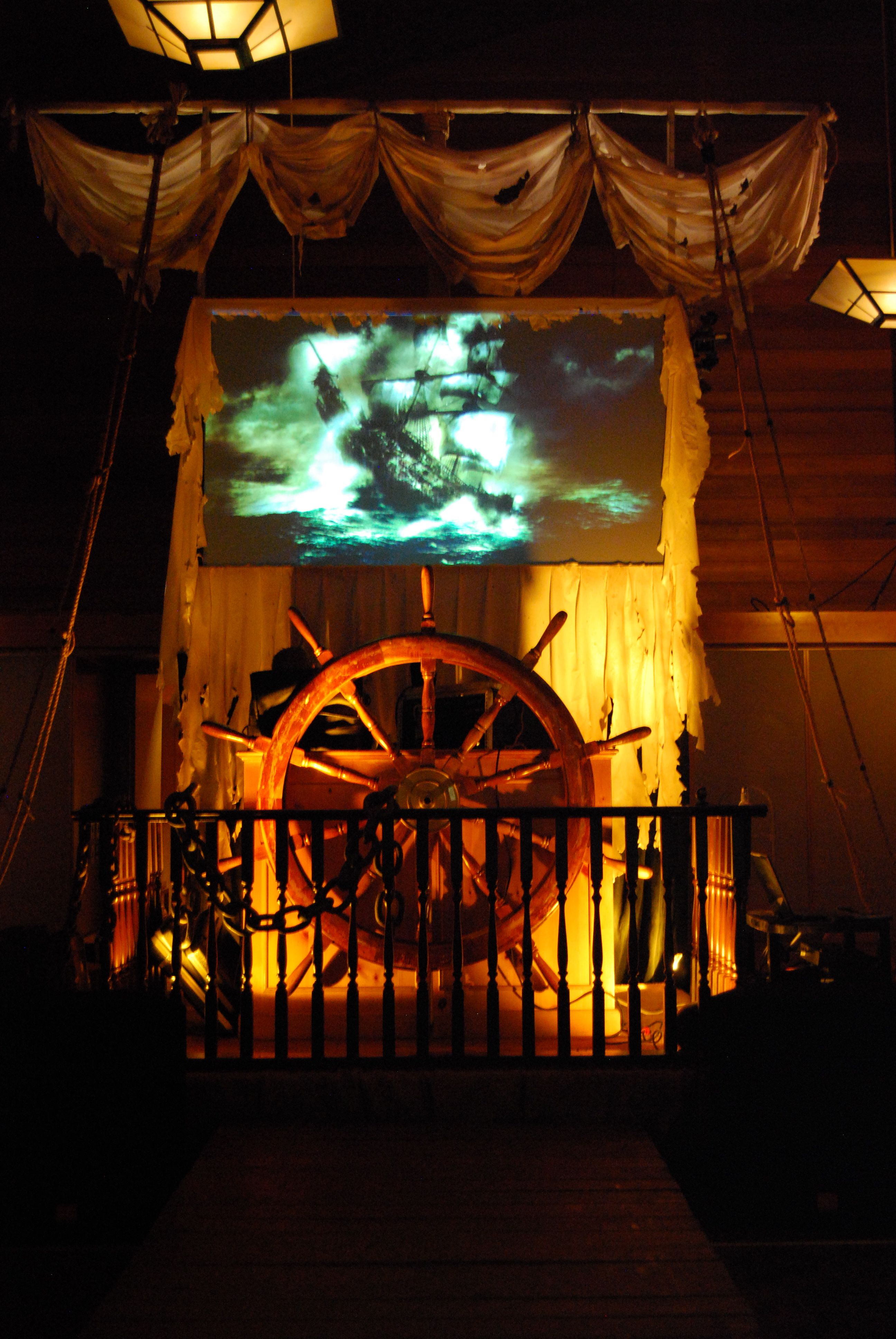 pirate theme bar mitzvah the tualatin hills country club