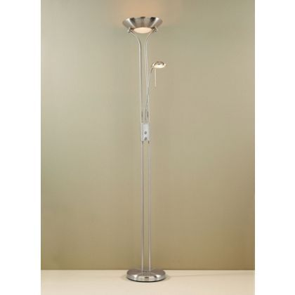 Mayer Father and Child Floor Lamp - Chrome - 179cm at Homebase -- Be ...