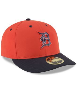 innovative design 30c91 b13d5 New Era Detroit Tigers Low Profile Batting Practice Pro Lite 59FIFTY Fitted  Cap - Orange 7 1 4