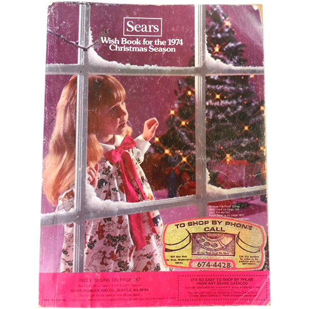 1974 Sears Wish Book Christmas Catalog | Magazines and Catalogs