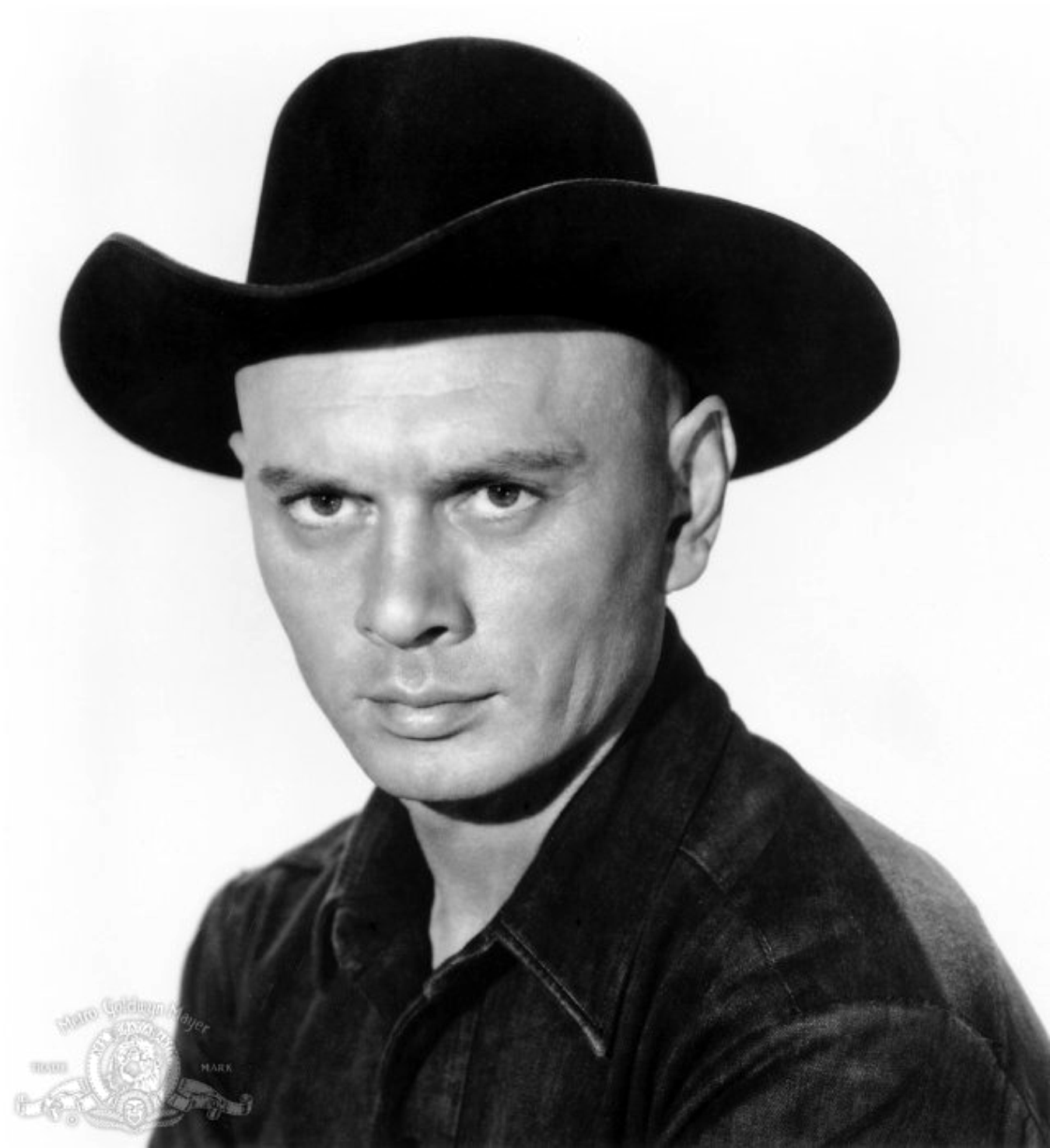 yul brynner with hair