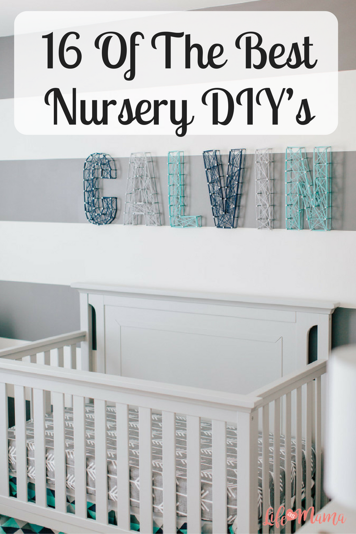 16 of the best nursery diys crafty unique and room 16 of the best nursery diys solutioingenieria Choice Image