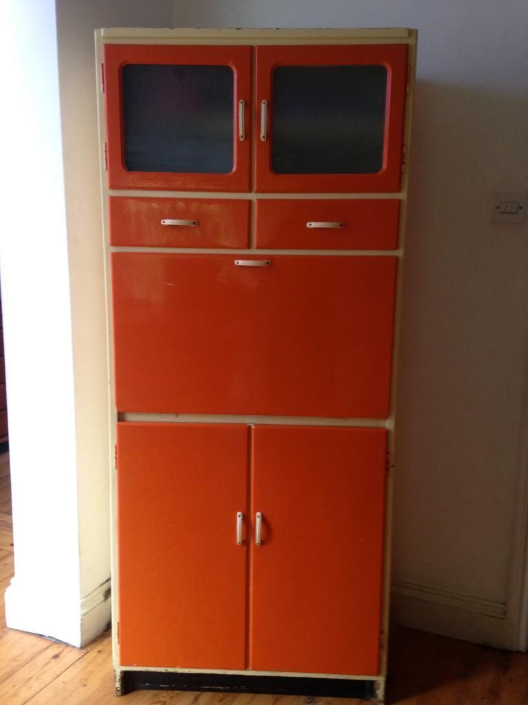 Vintage Retro Kitchen Buy Sale And Trade Ads Great Prices Vintage Cupboard Retro Kitchen Vintage Kitchen Cabinets