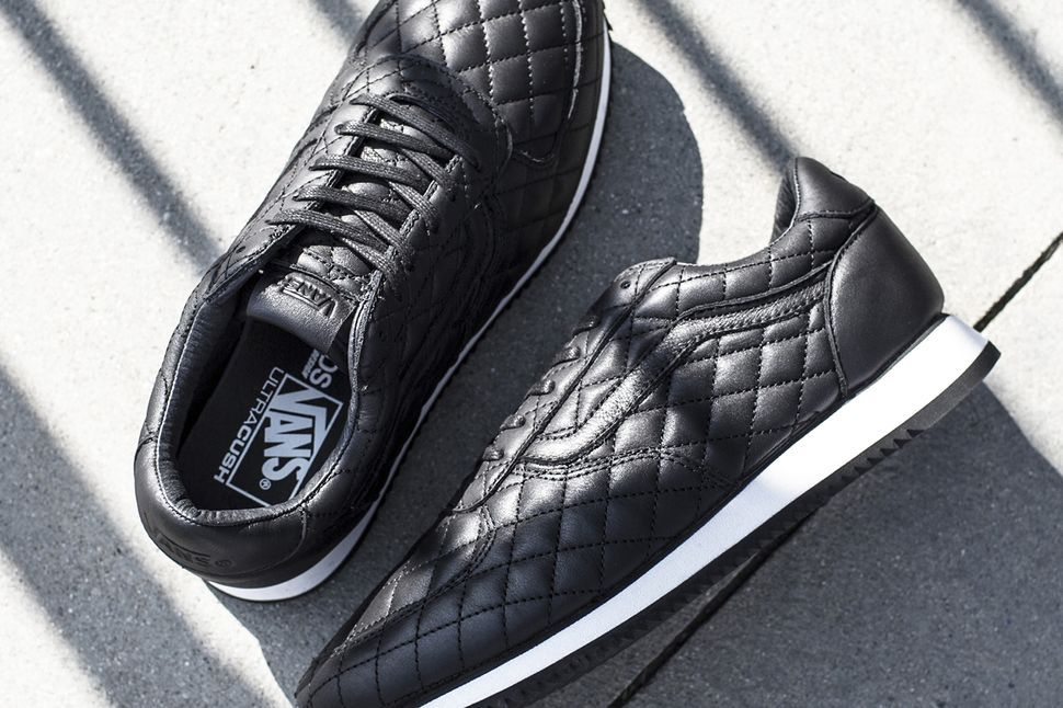 c1d7e926ab The Blends x Vans Vault Quilted Leather Runner - EU Kicks  Sneaker Magazine