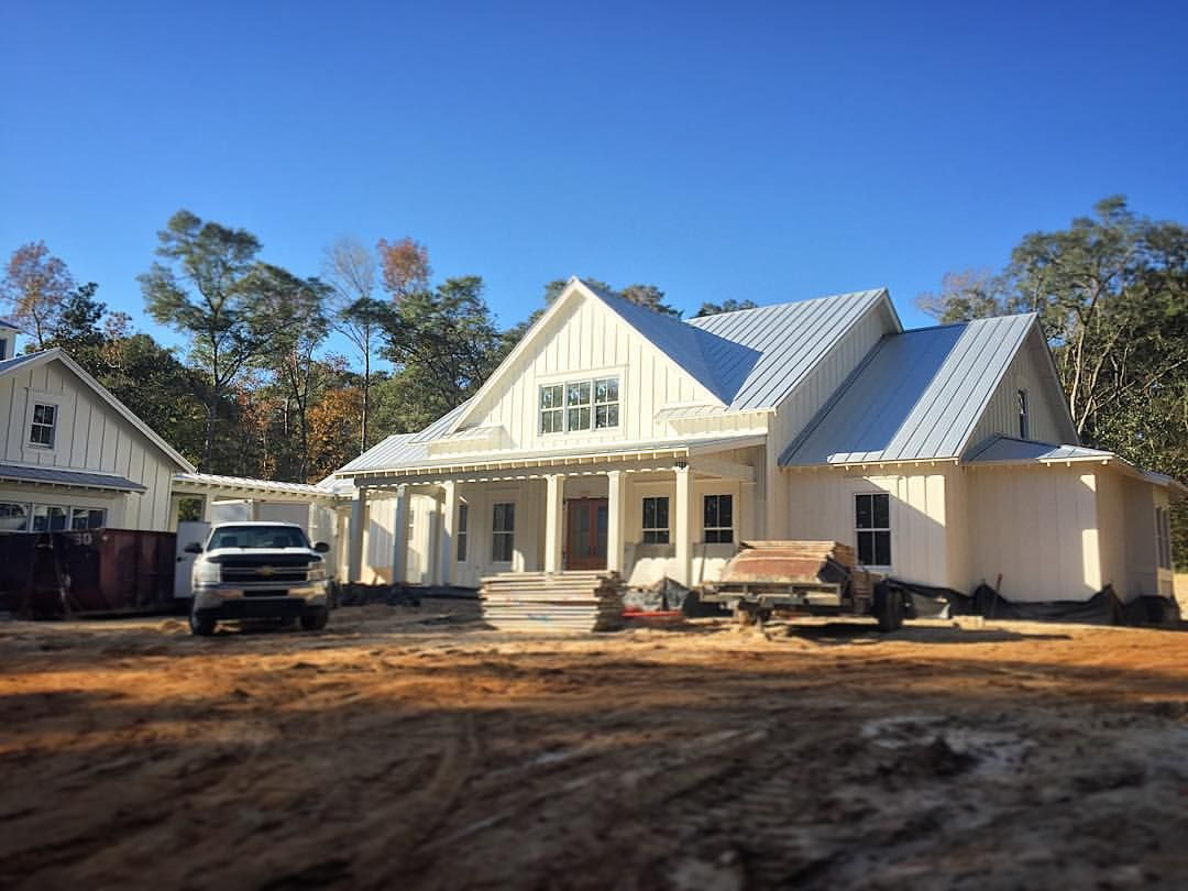 All Sorts Of Interior Millwork Underway Inside This One Now Headed Across The South Georgia Plantation Belt
