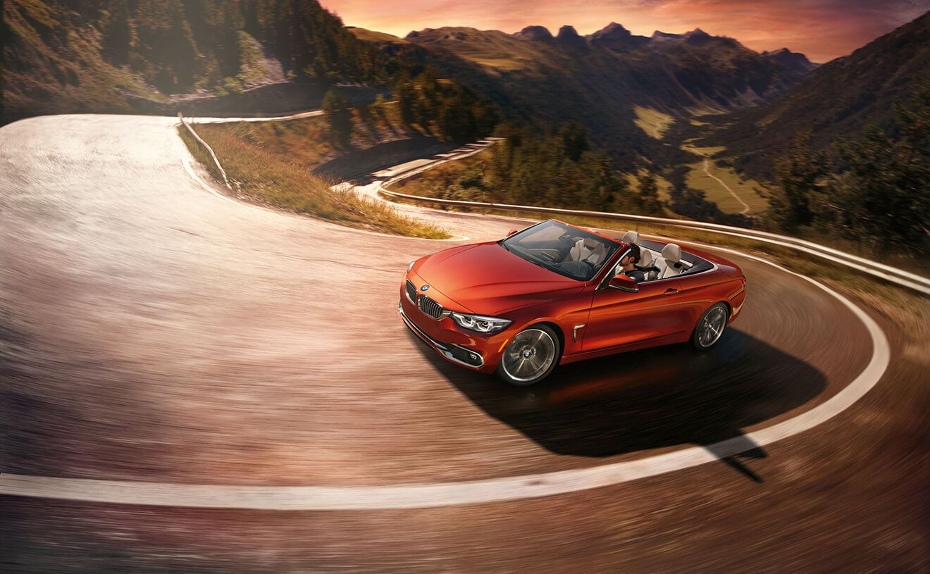 The BMW 430i Convertible in Sunset Orange Metallic with ...