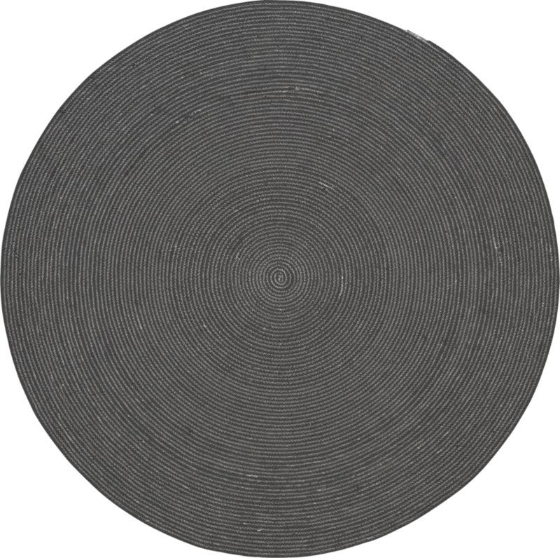 Circle Rug 6 Cb2 This Was Exactly What I Thinking Of For