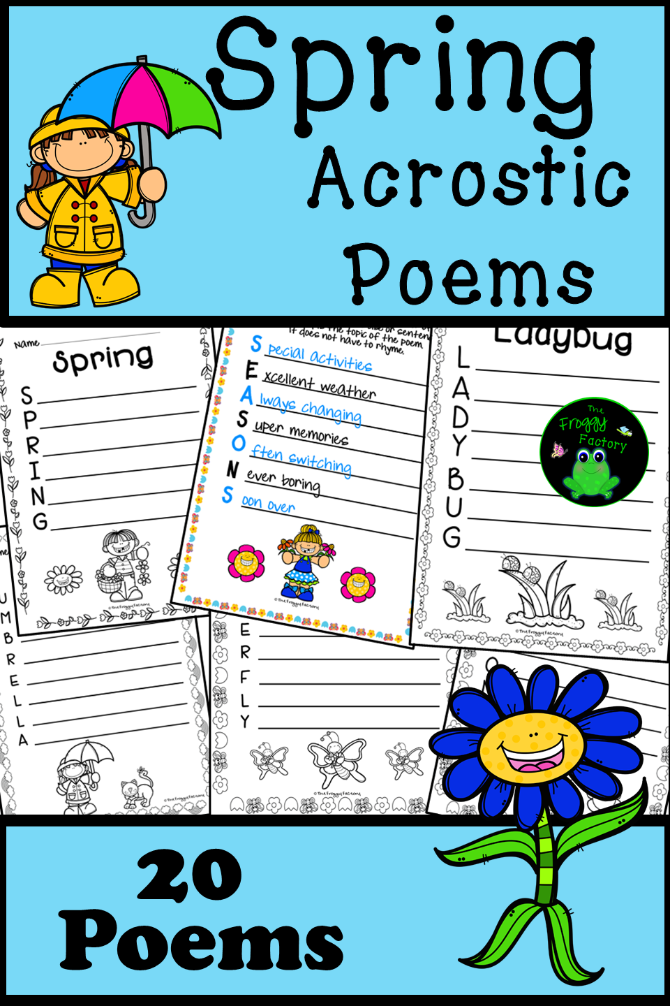Spring Acrostic Poems Pinterest Group Work Literacy And Worksheets