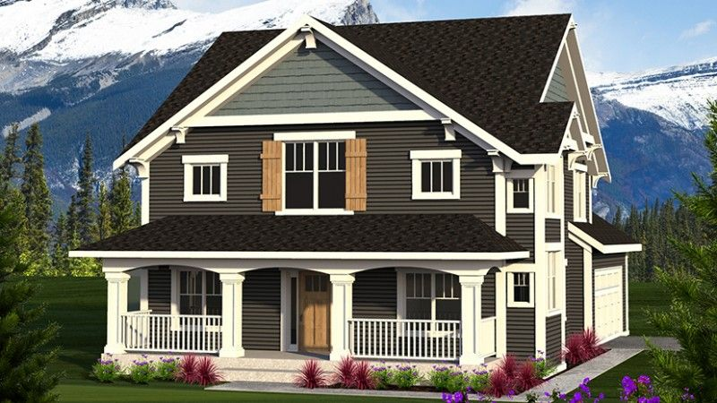 Craftsman Style House Plan 3 Beds 2.5 Baths 2363 Sq/Ft