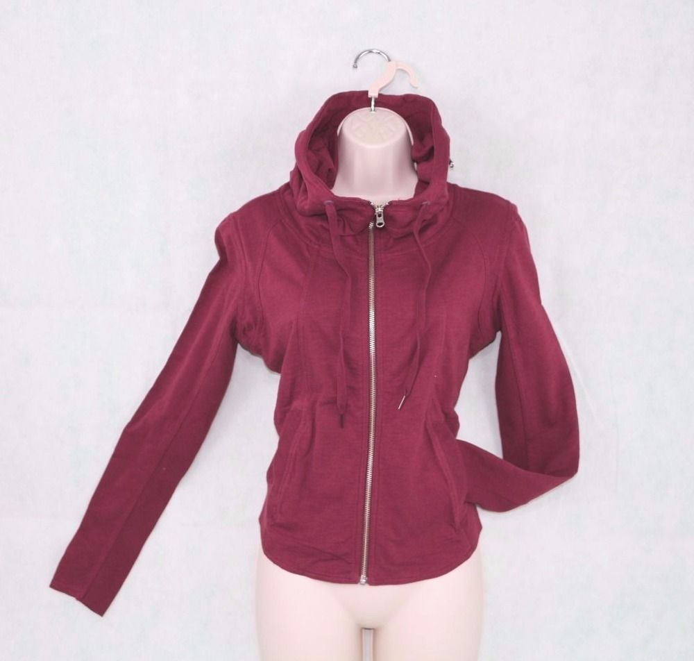 02bd5661af1 Converse All Star Womens Size XS Funnel Neck Full Zip Hoodie 09205C   Converse  Hoodie