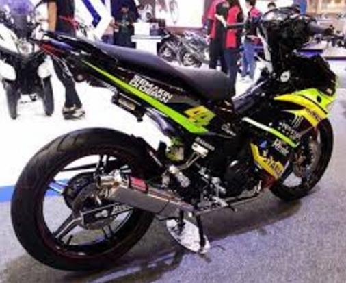 Modifikasi Yamaha Jupiter MX King 150 Movistar