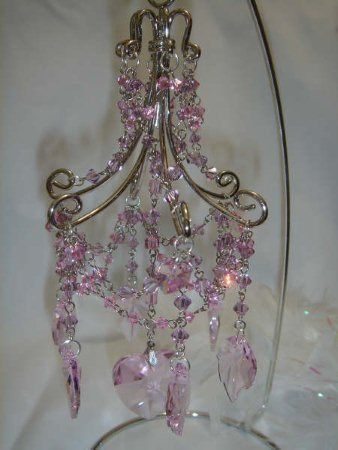 How To Make A Miniature Chandelier 做, How To Make A Miniature Dollhouse Chandelier