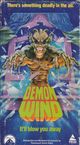 Demon Wind VHS cover | Horror posters, Horror movies, Horror