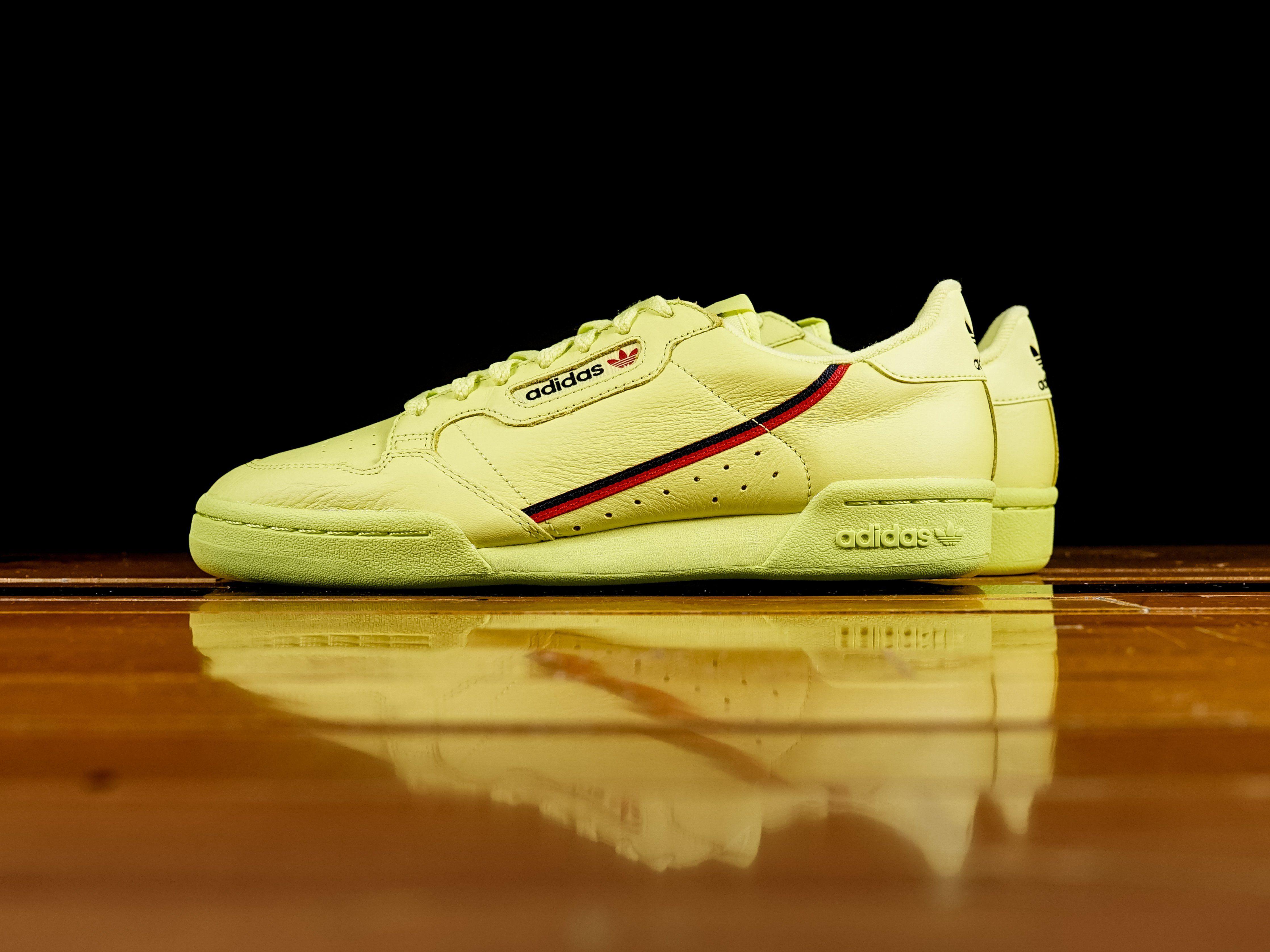 new style 33a28 eb82c Adidas Continental 80 Rascal Semi Frozen Yellow B41675