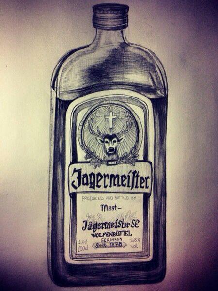 Jägermeister Drawing