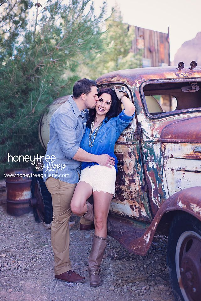 Engagement couples love poses engaged honeytreegallerie classic cars