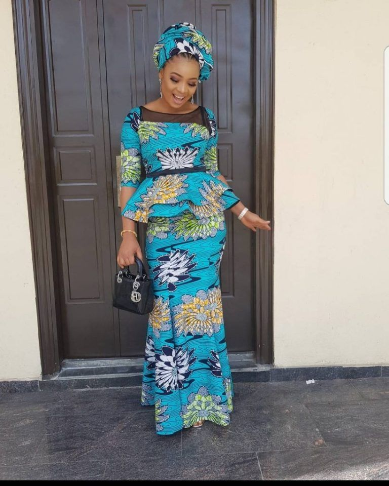 Top Ten Stylish, Creative And Beautiful Ankara Styles You Would Love To Rock
