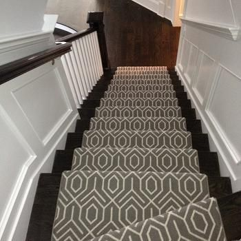 Staircase Wainscoting - Traditional - entrance/foyer - James ...