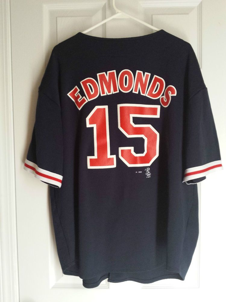 VTG Jim Edmonds #15 St Louis Cardinals MLB Jersey Mens XL Vintage #PlayersChoice #StLouisCardinals