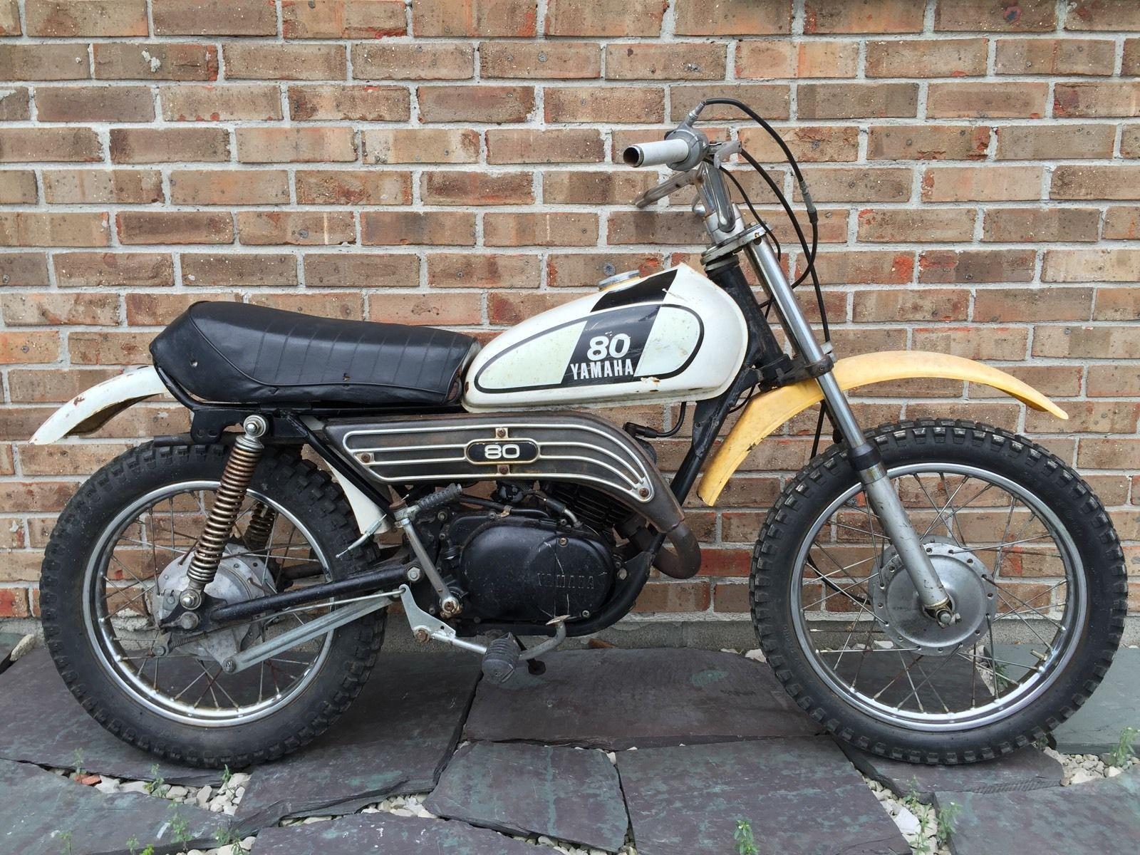 Vintage 1974 Yamaha GT 80 MX Mini Dirt Bike for Parts Restoration Display |  eBay