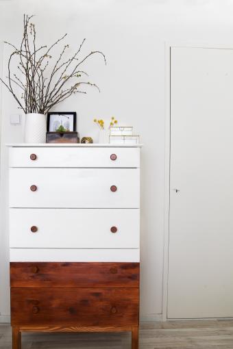 Gerestyled- slaapkamer ladekast 1   DIY in the home   Pinterest ...