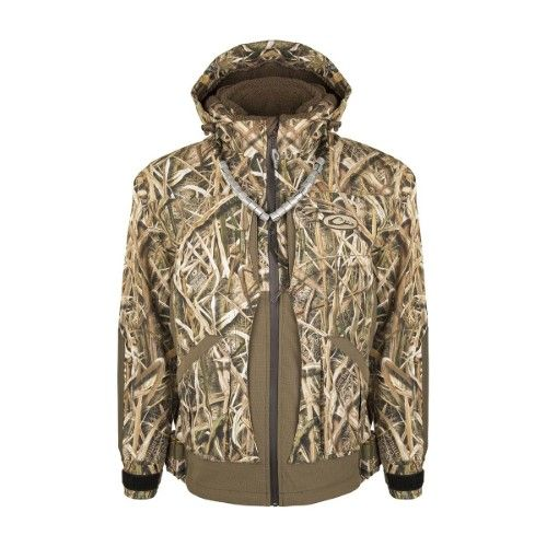 Drake Guardian Elite Layout Blind Insulated Jacket Fishing Outfits Jackets Hunting Clothes
